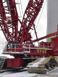 TNT Crane Canada Crawler Crane
