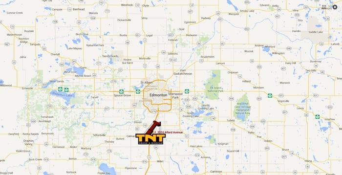 TNT Crane Canada new Alberta location