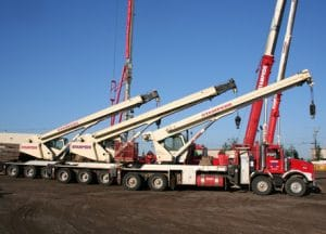 picker truck cranes in Alberta
